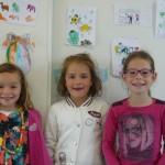 Jeanne, Servane et Emma