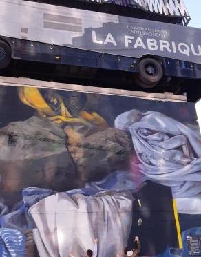 Le mur nantes à LA FABRIQUE
