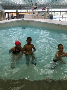 Lors de la dernière séance piscine j'avais pris quelques photos de mon groupe .