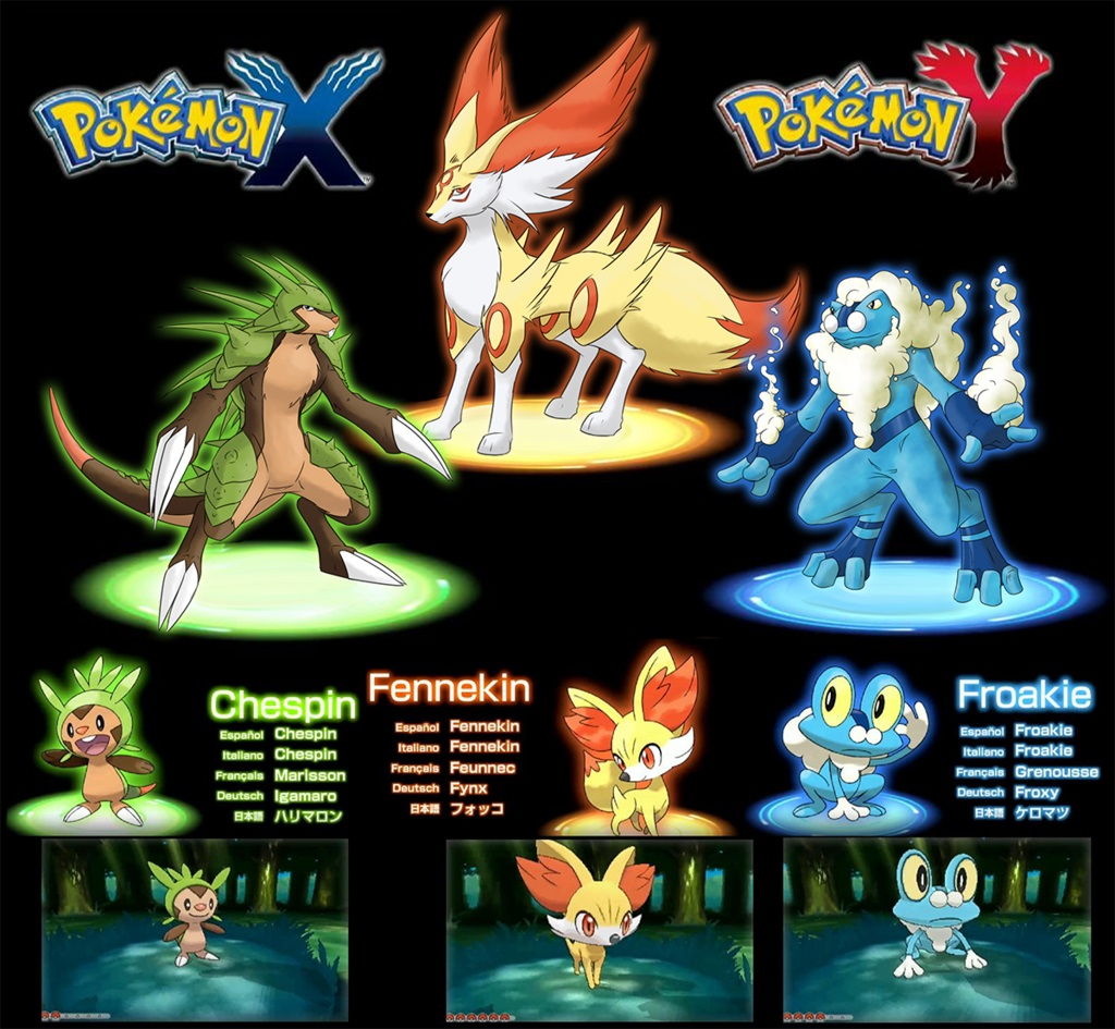 Pokemon x et y le commencement sources mag - Pierre eau pokemon noir ...